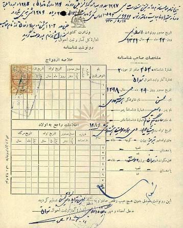 Copie de l'acte de naissance de Mohsen Hachtroudi