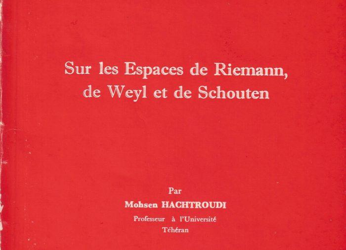 Thèse du Professeur Mohsen Hachtroudi